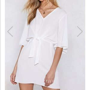 🍁3 for $39🍁 Nasty Gal Knot Front Shift Dress
